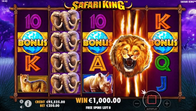 safari king slot 2