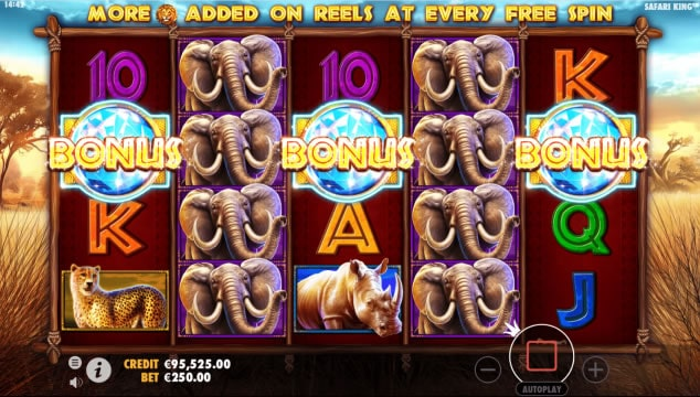 safari king slot 4